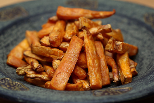 Greek Yogurt, Yams, Sweet Potatoes, French Fries, fruit, gains
