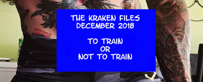 kraken, train, illness, injury