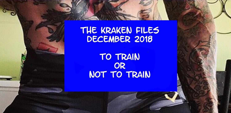 kraken, train, illness, injury