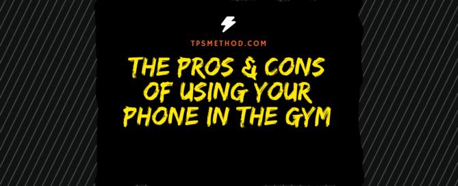 gym, phone, blue light, pro's , con's