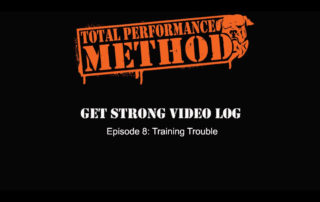 Candace Puopolo,cj murphy, crossfit, elitefts,fitness, get strong, gym, Matt Buckingham, powerlifting, program, q&A, strongman, total performance, tpsmethod, one rep max, 1rm, trouble, life problems, fml, vlog, episode 8