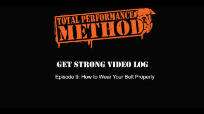 powerlifting, abs, brace, bracing, belt, weightlifting belt, crossfit, strongman, elitefts, CJ Murphy, Candace Puopolo , Matt Buckiongham, how to wear a belt, warm porridge, too loose, too tight, just right, fitness, tpsmethod, total performance