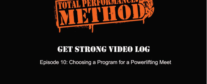 total performance,tpsmethod,pizza,delicious, how to choose a program for a powerlifting meet, cj murphy, candace puopolo, matt buckingham, russ smith, powerlifting program, free