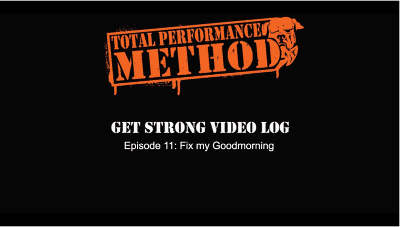 form check, goodmorning, tpsmethod.com