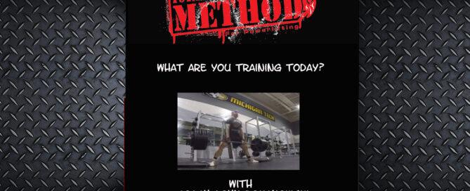 john romanowski, powerlifting, what are you training today, focus, self reliance ;